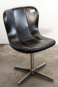 Sedia girevole design ufficio ecopelle anni 50 60 vintage for Sedia design anni 40