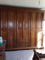 Camera letto completa legno armadio comò comodini letto ...