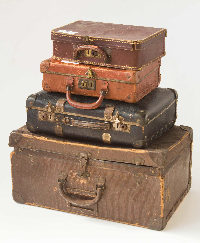 10 valigie cartone anni 30 40 50 vintage arredamento for Mercatino dell usato pescara