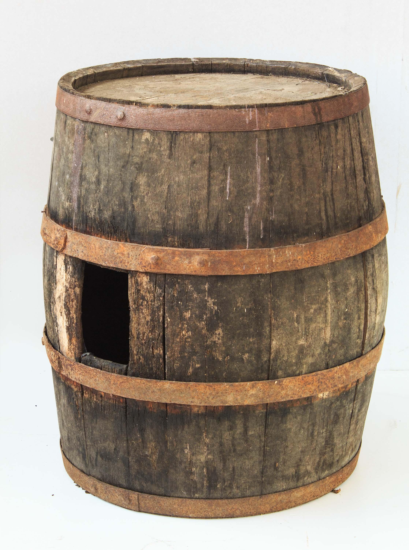 Vecchia botte legno arredamento bar ristoranti vintage for Botte arredamento